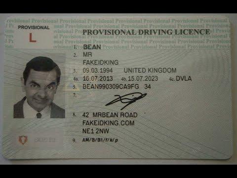 Dovadă de adresă UK - Aplicație pentru Provisional Licence