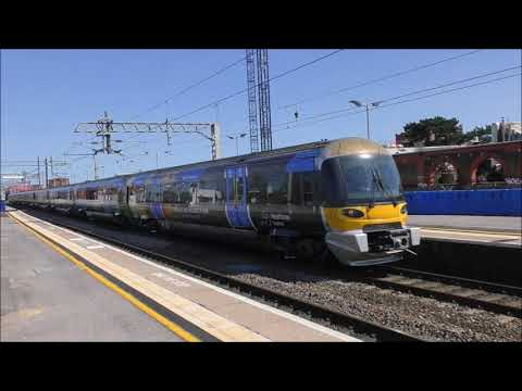 GWR Hsts  Heathrow express & more at Southall 18th April 2018