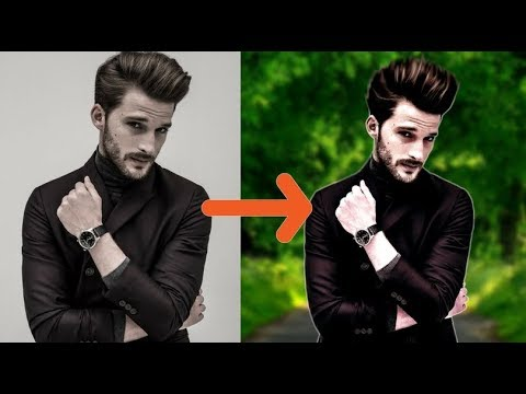 How To Remove Background In Photoshop |  Step by Step Photo Editing Tutorial..!