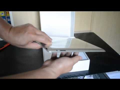 iPad2 unboxing whats in the box