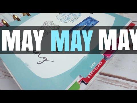 MAY 2018 HAPPY PLANNER FLIP THROUGH | HAPPY PLANNER WEEKLY SPREADS | PEEK IN MY PLANNER