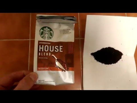 Starbucks house blend ground coffee review