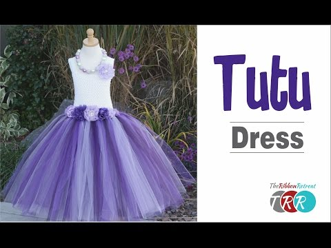 How to Make a Tutu Dress - TheRibbonRetreat.com