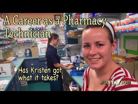 A Career as a Pharmacy Technician (JTJS12007)