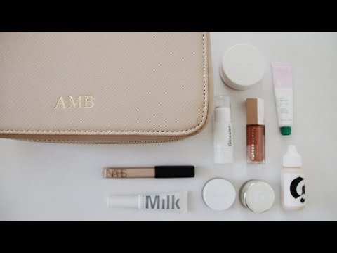 What's In My Travel Makeup Bag? Mark and Scribe Large Makeup Case