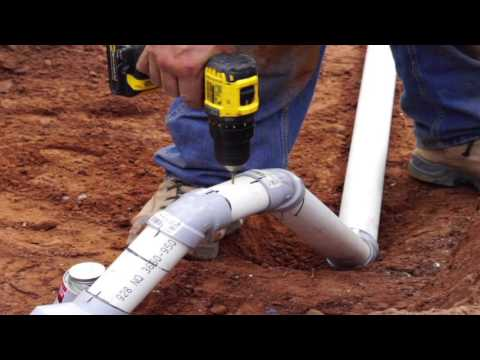 Pressurized C 1 Septic System Installation