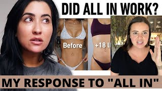 RESPONSE: STEPHANIE BUTTERMORE'S ALL IN 1 YEAR UPDATE & HOW I EXPERIENCED THE SAME THING!