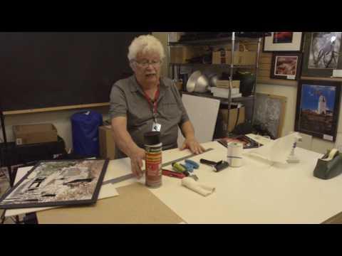 How To Mount Prints On Foam Core Board