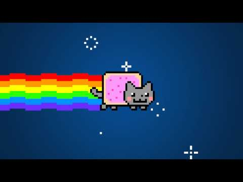 Nyan Cat at 4K Resolution!