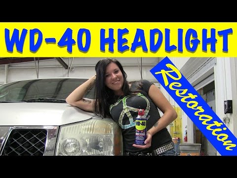 WD-40 & Bug Spray Headlight Restoration - Does That Really Work?