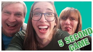 5 Second Game!!!! W/ MY PARENTS!