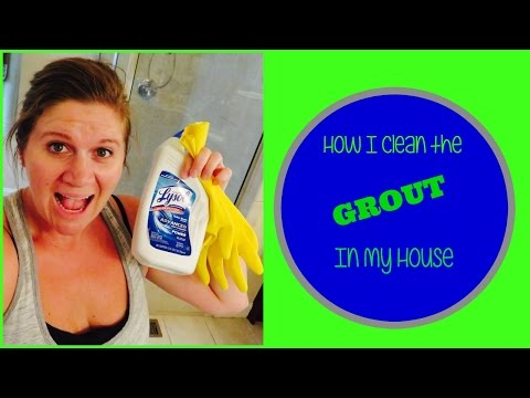 How to Clean Grout | No Scrubbing