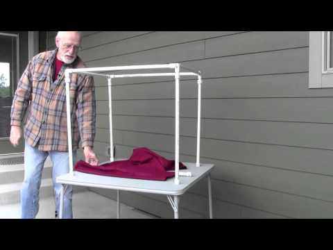 Making a Light Tent with style