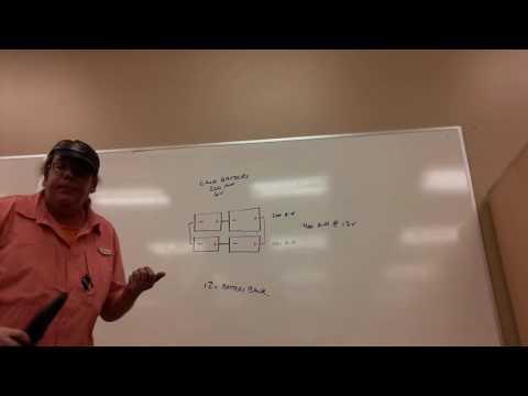 Off-grid battery bank capacity: amp-hours vs watt-hours