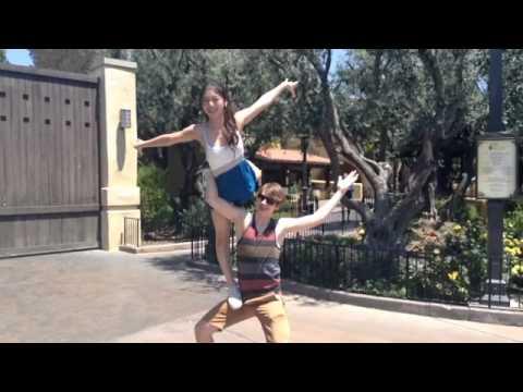Some of Amanda's Birthday's Disneyland moments!