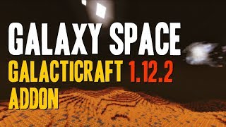 GALAXY SPACE MOD 1.12.2 minecraft - how to download and install [Galacticraft addon] (with forge)