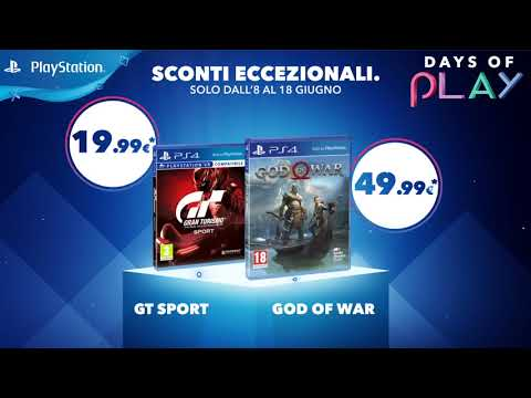 Days Of Play 2018   8-18 giugno   PS4