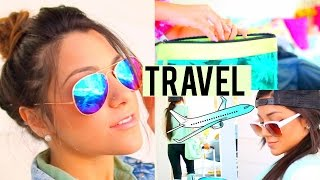 Travel Hair, Make-up, Outfits + How to Pack!
