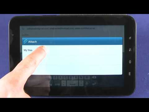 Messaging with the Samsung Galaxy Tab