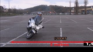 How to make a U-turn with a Motorcycle: the Japanese Police Officer's style