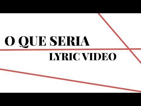 Carlinhos Brown - O Que Seria (Lyric Video)