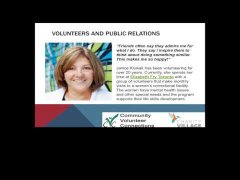 Maximizing the Strategic Impact Of Your Volunteer Program - Closed Captioned