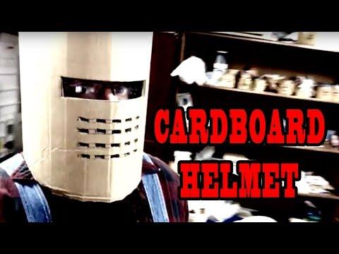 How to make a Cardboard Knight HELMET PT.1 ~ Artismia