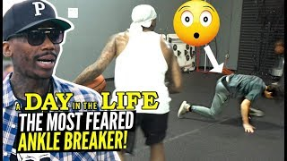 He's Got OVER 2000+ ANKLE BREAKERS & Counting! Bone Collector Day In The Life!
