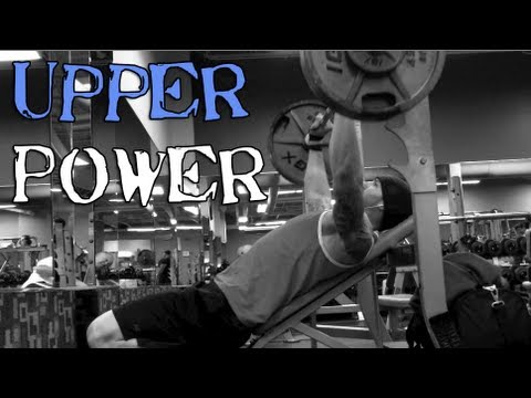 Upper Power Bench and Rows 1-31-13