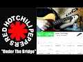 Under The Bridge - Red Hot Chili Peppers (Intro TABS GUITAR - Riff Story)