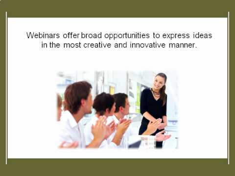 Tips for conducting a successful webinar