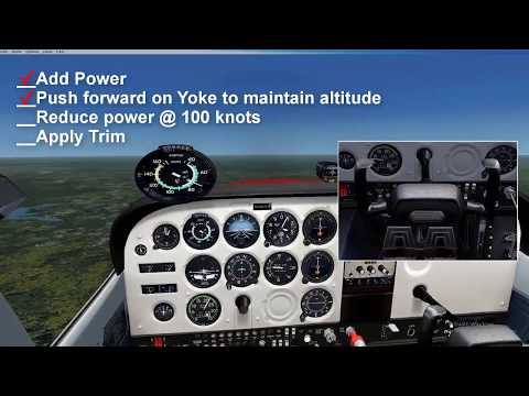 Changing Airspeeds in Straight and Level Flight