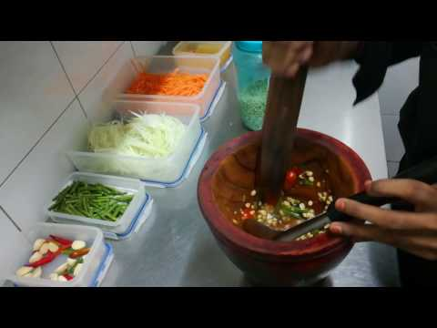 Thai Papaya Salad..