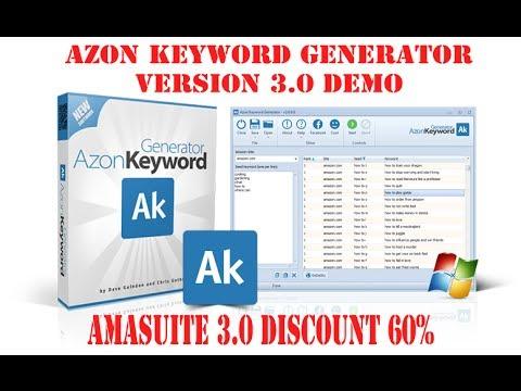 AmaSuite 3.0 DISCOUNT 60%|Azon Keyword Generator Features