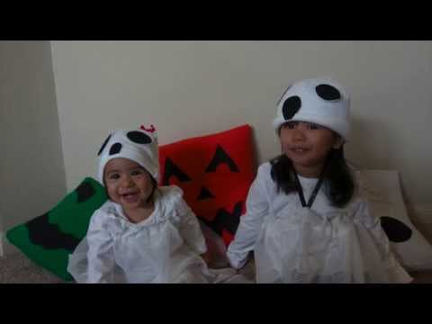 DIY Ghost Costume for Baby/Toddler