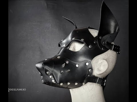 Dog Leather mask