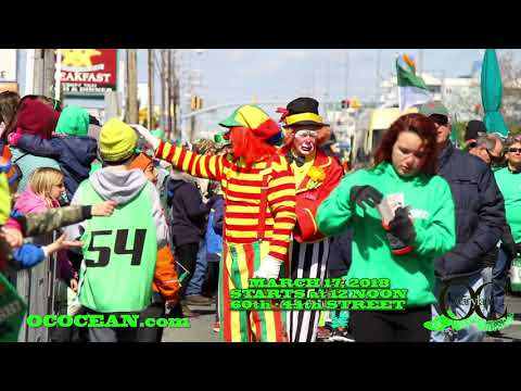 St. Patrick's Day Parade Pre-Promo 2018 - Ocean City, MD