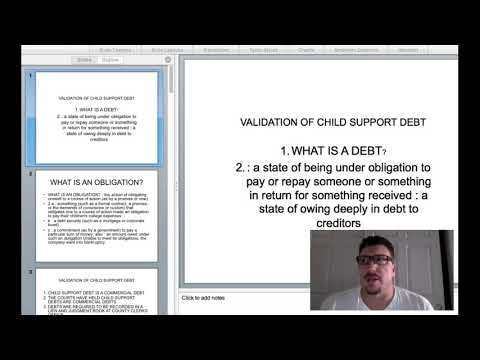 USING THE CONSTITUTION TO UNDERSTAND HOW CHILD SUPPORT IS UNCONSTITUTIONAL!