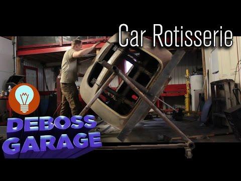 DIY Car Body Rotisserie