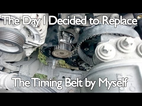 The Day I Decided to Replace the Timing Belt Myself | Opel Astra H 1.8
