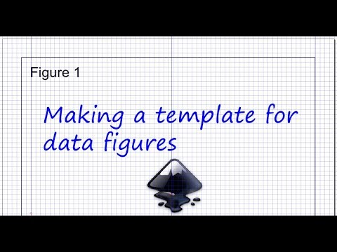 Inkscape for scientists - 02 | Making templates for data figures & illustrations