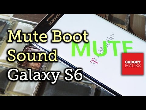Disable the Boot Sound on Your Samsung Galaxy S6 or S6 Edge [How-To]