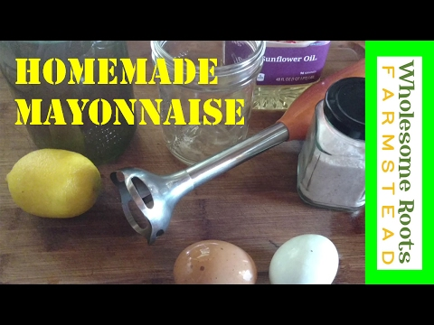 Homemade Lacto-Fermented Mayonnaise!