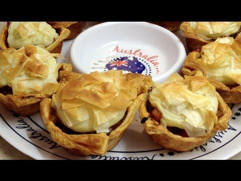 Aussie Meat Pie with a twist video recipe cheekyricho