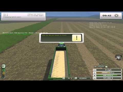 Farming Simulator 2013     working the straw
