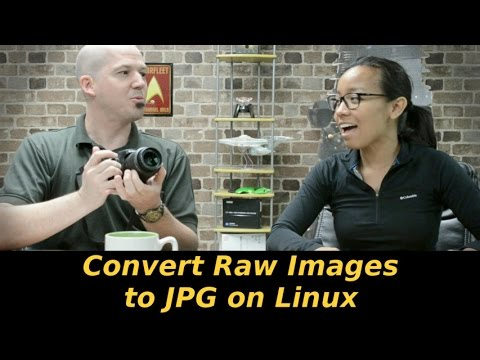 470 - Convert Raw Images to JPG on Linux