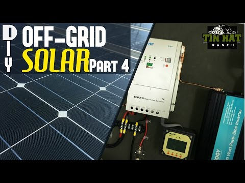 DIY Off Grid Solar- How To Wire Solar Panels