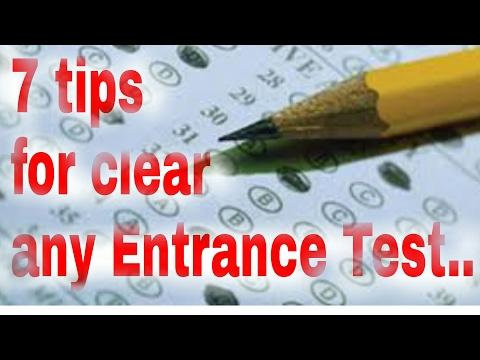 Kisi b entrance test ko clear kaise kare   tip for clear any entrance exam