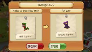 Rarest Animal Jam Play Wild Trade Attempts For Spooky Top Hat Bbcpc Animal Jam Rarest Top Hats Music Jinni