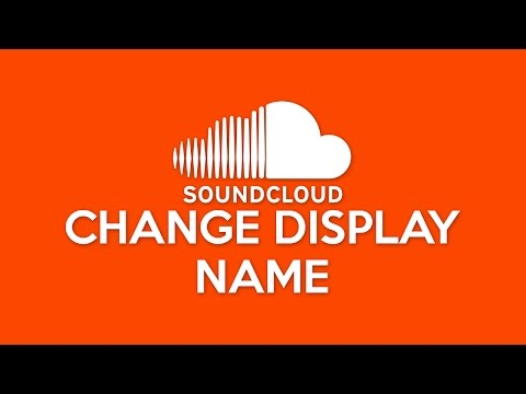 How to Change SoundCloud Display Name